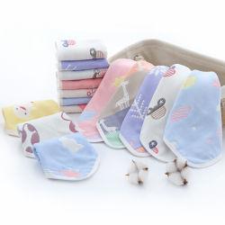 Оптовая торговля белым бамбуковые волокна малыша Washcloth полотенце,