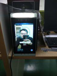 8-дюймовый экран с проверка температуры и фокусировка по лицу доступ к модулю управления для заводских ворот