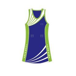 Mode Sublimation Netball Kleidung zum Verkauf Team Netball Uniform Tennis Sportswear Custom Sexy V-Ausschnitt Netball Kleid für Club