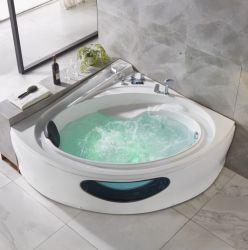 2021 تدليك فاخر جديد حوض استحمام ساخن زاوية جاكوزي حوض دوامة (Q432)