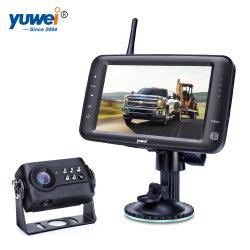"""5 """" sans fil voiture Dashmount LCD TFT moniteur pour l'appareil photo de sauvegarde de rétroviseur"""