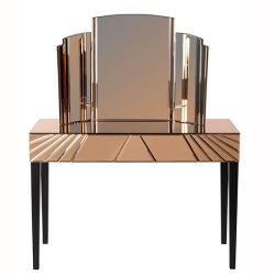 虚栄心表が付いている寝室の家具のハリウッド様式のLEDによってつけられるミラー
