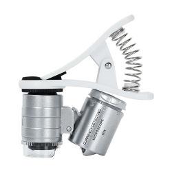 Mini microscopio Pocket di LED&UV per il telefono mobile (BM-MG8049)