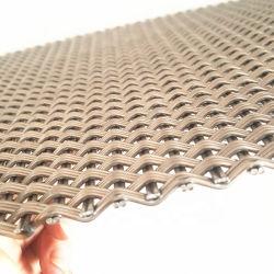 أثاث معدني مبتكر مصنوع من النسيج الشبكي المزخرف المسطح المزخرف