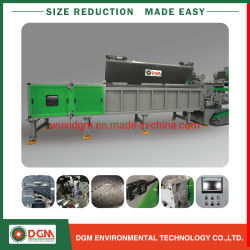 أنبوب بلاستيكي شديد البولي فينيل كلوريد البولي فينيل كلوريد (PVC) مصنوع من البلاستيك، للخدمة الشاقة إعادة تدوير آلات قطع آلة التقطيع