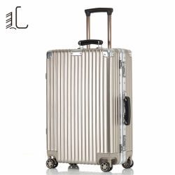ABS-PC das intelligente Reisen weitermachen Arbeitsweg-Beutel-Kabine-Koffer-kundenspezifisches hartes Spinner-Gepäck