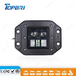 Commerce de gros 3pouce 12V 20W Spot LED moto hors route des feux de travail de camping du chariot