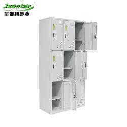 Muebles de almacenamiento ventilados armario armario de ropa de metal para la venta