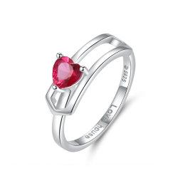 Huis 925 van de liefde de Echte Zilveren Reeks van de Juwelen van het Huwelijk van CZ Bruids