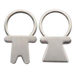 سلسلة مفاتيح Lover للصبي والفتاة مع شعار مخصص