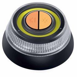 مصباح وامض للطوارئ V16 LED، أطراف وامضة للسيارة على جانب الطريق ضوء تحذير LED للسلامة مع أداة تركيب مفتاح تلقائي مغناطيسي للسيارة، الشاحنة، المركب