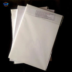 Material da camada central da placa intermediária, tela de filme de PVC branco para impressão em offset de PETG folha de plástico para cartões de identificação