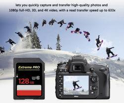 Extreme PRO 633X SD 256 GB 128 GB 64GB, 32GB, 16GB Flash Cartão de memória SDXC Cartão SDHC de Classe 10 95MB/S Uhs-I para câmara