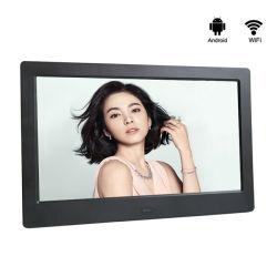 지능적인 접촉 스크린 인조 인간 통신망 OS 49 인치 LCD 잘 고정된 광고 장비