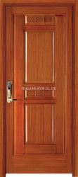 Цельная древесина главной двери дуб деревянной Core высокий уровень безопасности входной двери