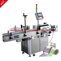 Haute précision double entièrement automatique à deux côtés de l'étiquetage de l'applicateur d'étiquette Labeler Machine pour bouteille ronds et carrés