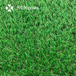 Precio competitivo el verde césped artificial jardines césped corto