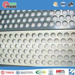 ISO SGSが付いている装飾のためのパンチ穴のステンレス鋼シート
