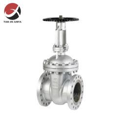 Fabbrica valvole DN200 6 pollici ANSI/DIN/JIS Standard CF8M 304 316 Volantino in acciaio inox con flangia, punto di iniezione/globo/valvola rotativa/di sicurezza utilizzato nei materiali per tubazioni