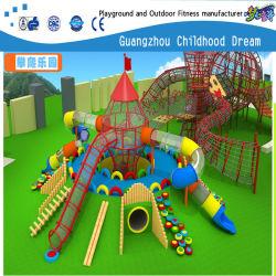 Nouveau design en bois en plastique de la diapositive des jeux pour enfants (H14-0879)