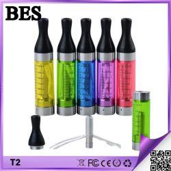 Capacité d'E-2.4ml liquides T2 Cc Cartomizer claire