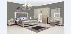 Hoge kwaliteit massief houten slaapkamerset, klassieke antieke slaapkamer set meubilair
