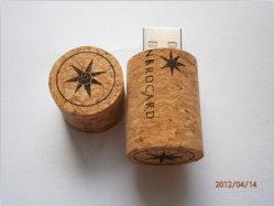 Bouteille de vin en bois, bouteille de lecteur Flash USB stylo USB Stick USB, bouteille