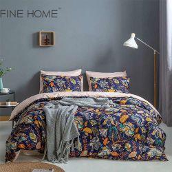 2021 Bettwäsche neue doppelte des Größen-Blumen-Musterduvet-Deckel-Erwachsen-Kind-weiche Baumwollbettwäsche-gesetzte einzelne volle Königin-König-Size