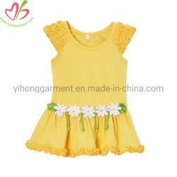 El verano de la Princesa parte Flor chica vestir con pequeños volantes