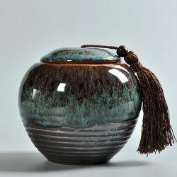 Keramisch snoepgoed Jar kleurrijke Gift Tea Jar Porselein Tea Jar Promotionele cadeauthee-kan
