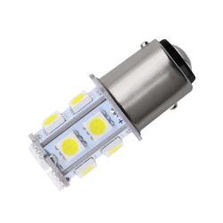 Ba15s 24V 1156 Général clignotants LED témoin de frein de lampe de marche arrière 5050 13 SMD des feux de conduite de jour d'éclairage intérieur