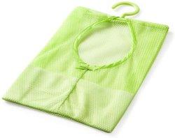 Il sacchetto d'attaccatura della maglia, cremagliera dell'armadio del sacchetto del Hamper del sacchetto della maglia dell'organizzatore di memoria dell'acquazzone della stanza da bagno copre il sacchetto di raccolta della clip Esg12306