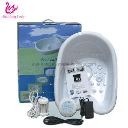 La vibración eléctrica Spa Baño de Pies masajeador Envío gratis (844H)