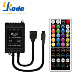 RGB LED 스트립용 12-24V 40키 리모콘 라이트