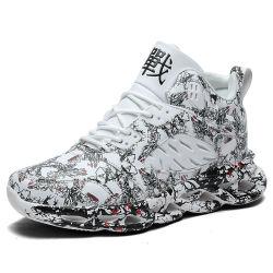 [منس] رياضات أحذية لرجال أزياء مريحة وقت فراغ صدمة امتزاز أحذية خارجية تسمح بمرور الهواء ووسادة الهواء الخاصة بالركض وحدها
