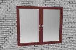 Économe en énergie double vitrage Fenêtre à battant en aluminium|nouvelles fenêtres à battants