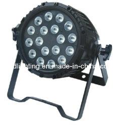 18*4в1 10W Quad цвет для использования вне помещений LED PAR лампа/LED водонепроницаемые PAR лампа/LED этапе PAR лампа