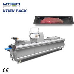 Premiere qualité machine de conditionnement de la peau d'aspiration automatique pour les viandes fraîches