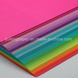 Luxuriöses 100% ursprüngliches hölzerne Massen-gefärbtes Farben-Papier Handmake Papier