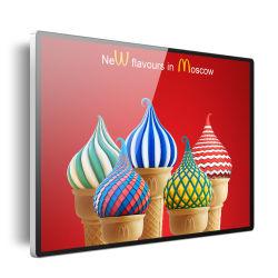 LCD digitale con montaggio a parete ad alta luminosità da 43 49 55 pollici Cartellonistica Pubblicità TV Play Player Tablet PC