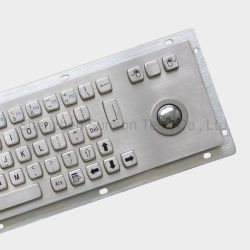 В антивандальном исполнении металлические клавиатуры и трекбол