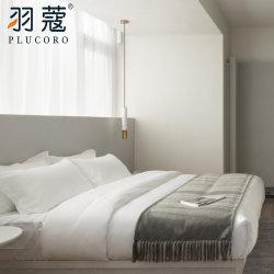 Luxus-Baumwollhotelduvet-Deckel 100% für Fünf-Sterne4 Stück-Hotel-Leinen-gesetztes Bett