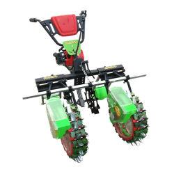Gasolina de 4 HP de 2 filas de la sembradora de cacahuetes maíz máquina sembradora Multi Founctional