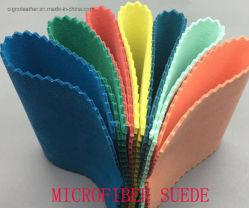 Pelle scamosciata in microfibra per scarpe/guanti/borsa/divano
