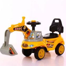 Crianças carro esporte Musical brinquedos de plástico para crianças Passeio de Carro com empurre a alavanca Ck-06