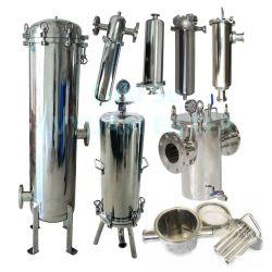 SS316 SS304 Edelstahl-magnetisches einzelnes multi Kassetten-Wasser-Filtergehäuse 10 20 30 40 Zoll
