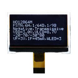Producto estándar 128*64 Matriz de puntos de la pantalla LCD Cog gráfico