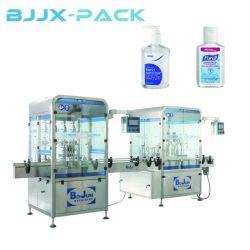 Gel automatique de l'alcool Hand Sanitizer antidéflagrant plafonnement de l'étiquetage de la machine de remplissage