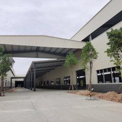 مبنى مستودع إطار هيكل فولاذي مصنع مسبقًا مع عزل أرضية فرعية جدار السقف