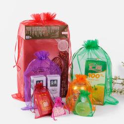 Высокое качество популярный пакет Organza свадебный подарок сумки шнурком украшения Organza сумки